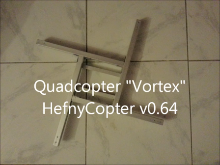 Vortex First Test Flight