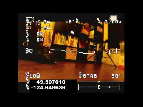 Bumblebee Quadcopter and GoPro with On Screen Display (OSD)