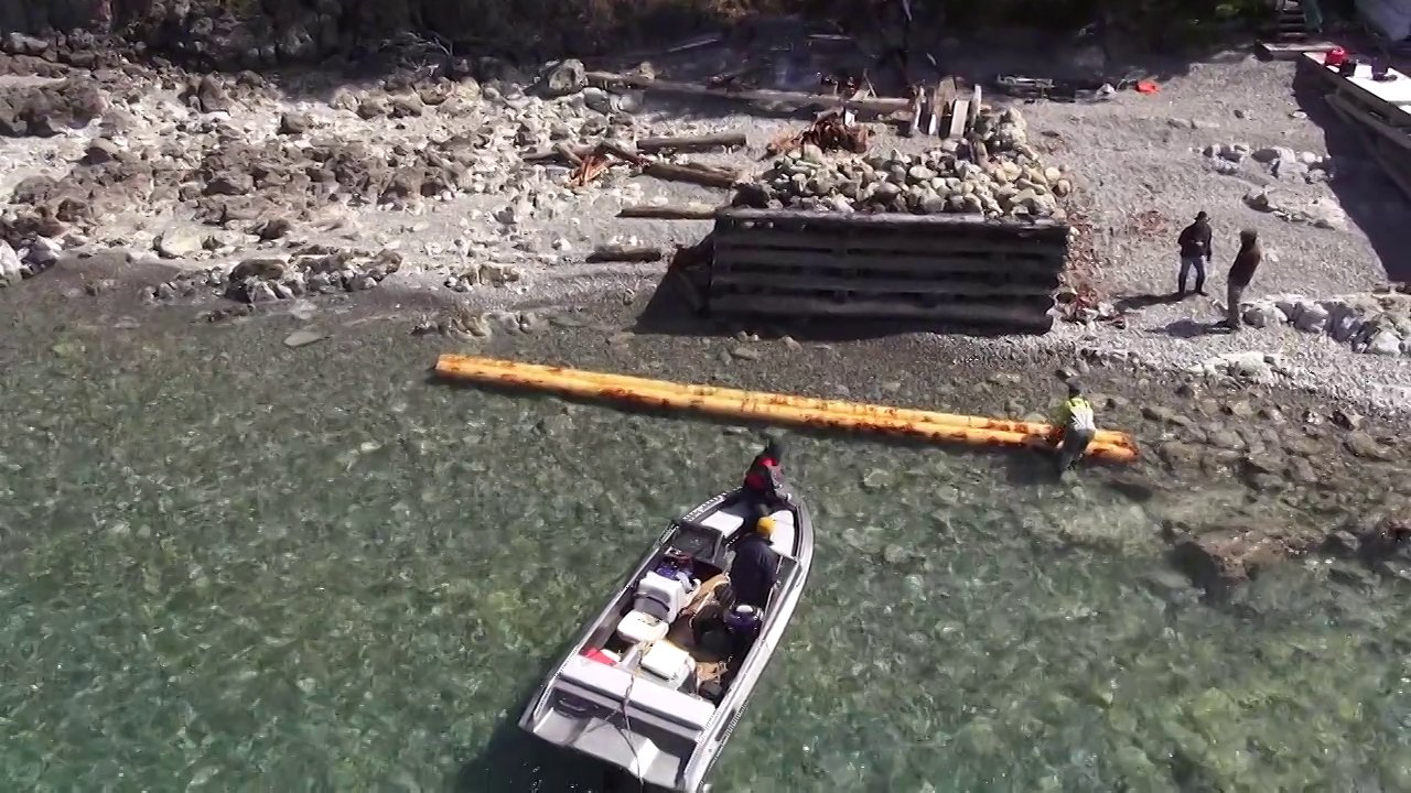 Flathead Lake dock rebuild with the Cinestar 6
