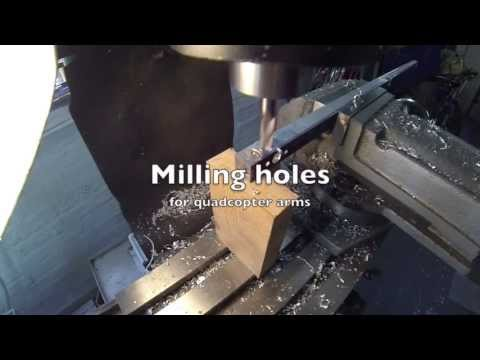 Milling arms
