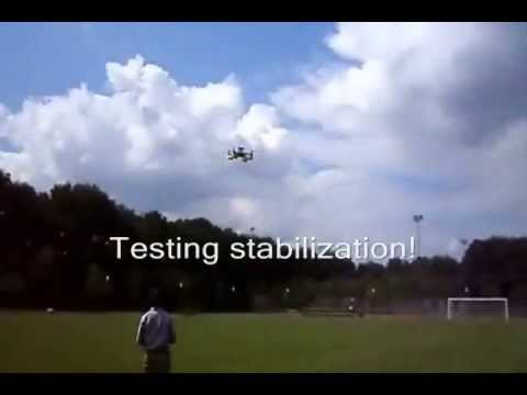 Quadcopter Teaser Video (Part - I)