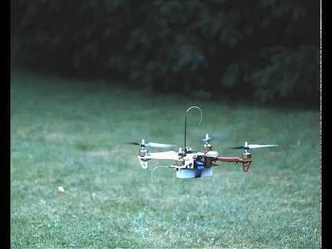F330 mini quadcopter high-speed shot
