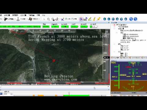 T10S uav Geo mapping at 3700 meters above sea level
