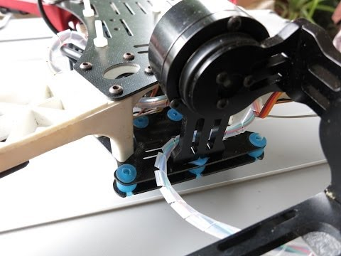 Front mount brushless gimbal for TBS discovery like frames
