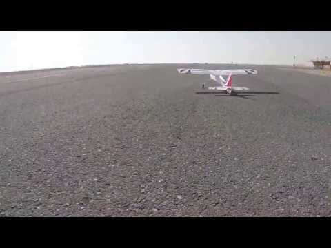 Flying RC Planes & UAVs in Qatar (2014)