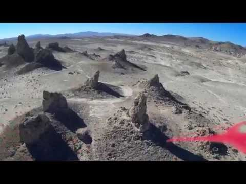 Quadcopter Drone Video on the Cheap: Trona Pinnacles Part 2