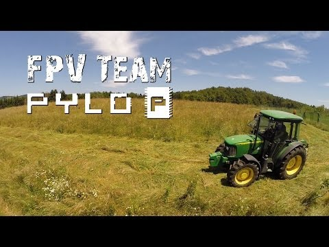 Mowing Grass by John Deere - FPV Team Pylo