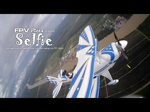 FPV Pitts Special - Selfie style