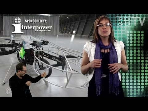 Engineering Newswire 43: The Flying Bicycle