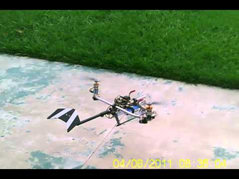 MultiWii BiCopter Testing 04/06