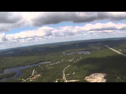 High Altitude Test -  Blade 350 QX Over Hubley Nova Scotia Canada
