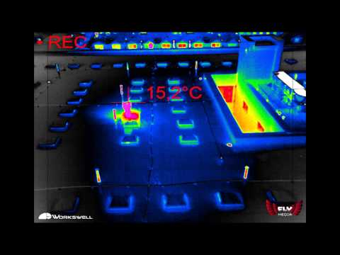 Aerial Thermography Inspection Drone