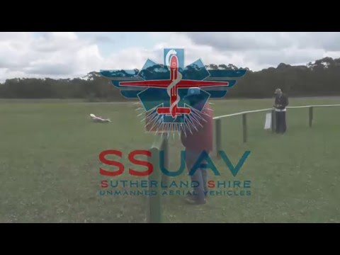 QuadPlane SSUAV Lucas Heights Test Flight in 20knot winds