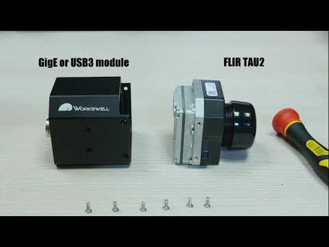 GigE and USB3 module for FLIR TAU2 | unboxing