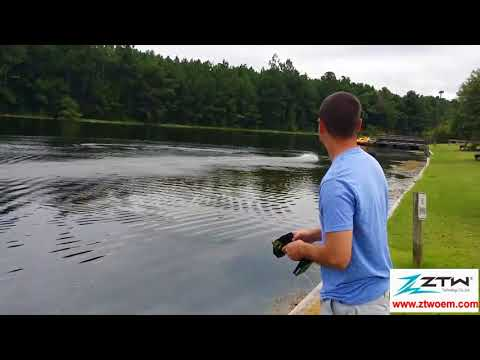 RC boat  6s H500 motor 90amp with ZTW Seal brushless  esc