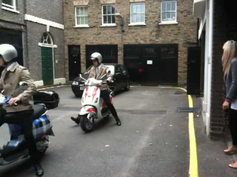 Topman vespa boys trying out formations
