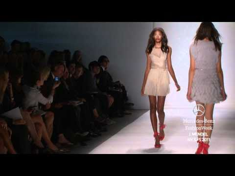 J. MENDEL SPRING 2011, MERCEDES-BENZ FASHION WEEK NEW YORK