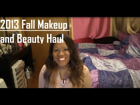 2013 Fall Makeup and Beauty Haul - Mac, Sephora, and Drugstore