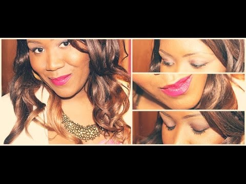 2014 Valentine's Day Makeup Tutorial - Flirty Pink With Mac's RiRi Pleasure Bomb