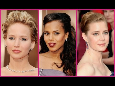 Fashion Recap : 2014 Oscars and 86th Academy Awards Red Carpet Hairstyles and Makeup Trends
