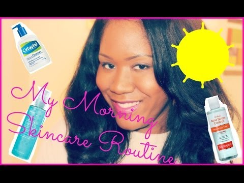 ♡ My Morning Skincare Routine ♡ {Acne Prone & Oily Skin Products}