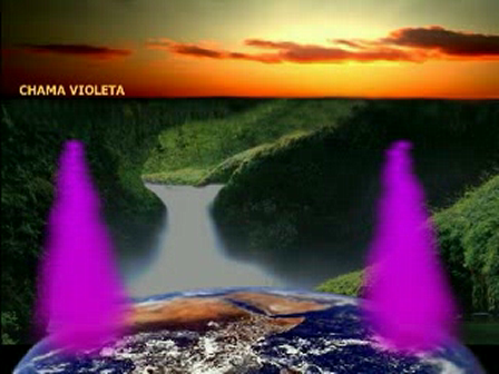 Chama Violeta