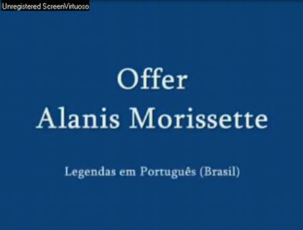 Offer - Alanis Morissette