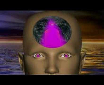 Visualização com a chama violeta da transmutação, visualizaç