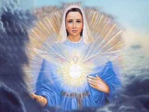 Mãe Maria e o Anjo