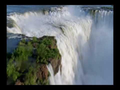 A Energia que vem das Cachoeiras e das Flores