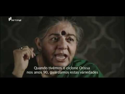 Vandana Shiva - O TEMPO E O MODO - MAIS UMA MULHER ASSUMINDO A LIDERANÇA !