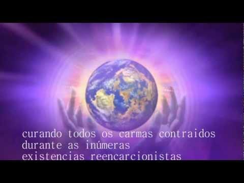 Chama Violeta e Energia Trina - Moacir Sader livro Dias Azuis