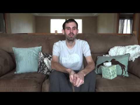 Nick Magnotti não teve sucesso na retirada do tumor e sabia que iria partir...  Young Man Battles Cancer With A Smile