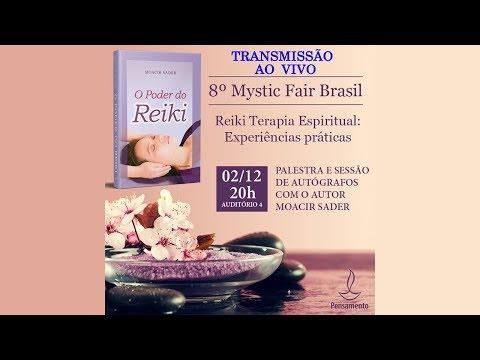 AO VIVO - Palestra Reiki Terapia Espiritual com Moacir Sader