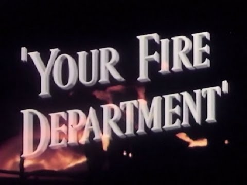 Los Angeles Fire Department 1949 - LAFD Firefighting Documentary