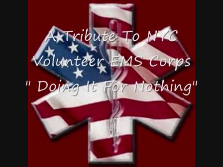 Volunteer Emergency Medical Services Tribute