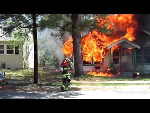 Paris Texas Structure fire