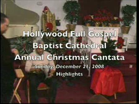Christmas Cantata 2008