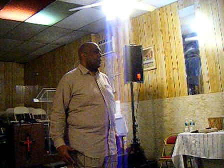 Pastor Davis Wed 3