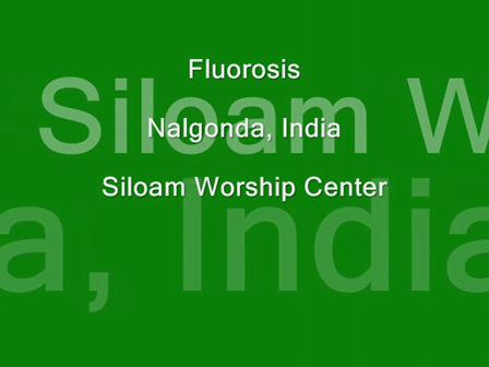 Fluorosis in India