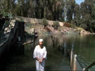 Baptism in the River Jordan-Spoken Word