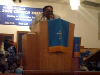 Pastor Warren Pitts, Sr.