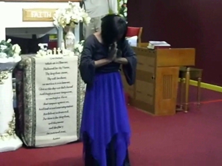 A Prophetic Dance by my daughter, Prophetess LaDonna