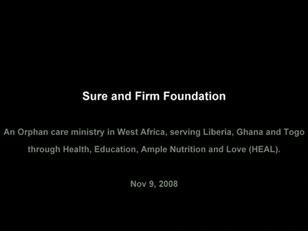 Sure and Firm Foundation