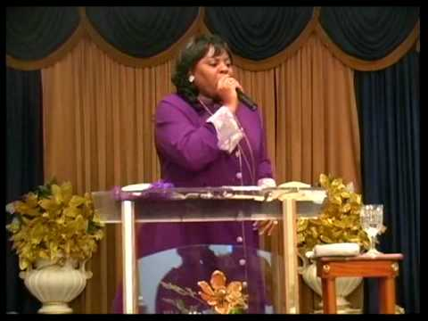 """Bishop R.E. Franklin preaching from message """"Holy C.O.W"""""""