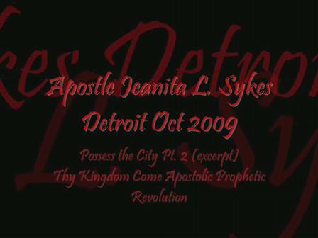 Detroit Oct 2009 Day 3 excerpt