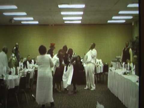 WOMAN HEALED OF DISEASE & FILLED W/HOLY GHOST AT PRAYER BREAKFAST