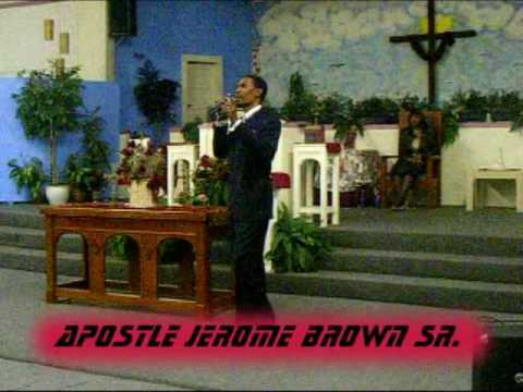 TILL YOU CAN FEED YOUR KILLER. APOSTLE JEROME C. BROWN SR.
