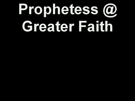 Prophetess Stephanie Saunders
