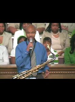 Cameron Ross-Saxophonist, Live at 2nd Baptist-Little Rock